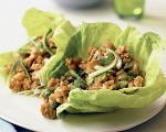 Zesty Chicken Lettuce Wraps