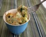 Creamy Fettuccine & Spinach Bake