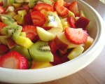 Simple Kiwi Fruit Salad