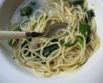 Linguini with Rapini & Chili