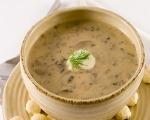 Creamy Mushroom & Fresh Ginger Soup