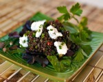 Green Lentils with Feta