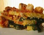 """Spinach & Bread """"Lasagna"""""""