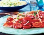 Simple Tricolore Salad