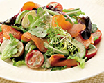 Salad Nicoise with Smoked Salmon