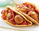 Saucy Meatball Sub Sandwiches