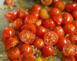Sauteed Tomatoes with Garlic
