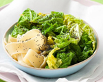 Savoy Cabbage with Egg Noodles
