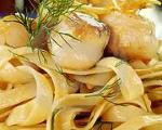Scallop Fettuccini