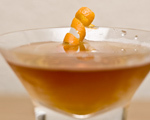 Sherry, Vermouth and Grapefruit Bitters Aperitif