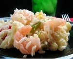 Shrimp and Rice Salad Topper