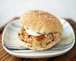 Easy shrimp burgers