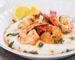 Delicious shrimp and grits