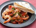 Shrimp with Mexican Tomato Sauce