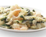 Shrimp and Spinach Risotto