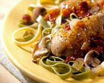Slow Cooker Chicken with Thyme and Mushrooms