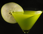 Sour Apple Vodka Martini
