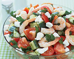 Southern European Shrimp Salad