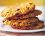 Spiced Apple Raisin Cookies