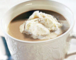 Spiced Cappuccino with Ice Cream