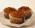 Healthy Spiced Carrot Muffins