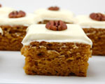 Spiced Pumpkin Bars
