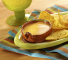 Spicy Cheese Fondue for Chips