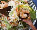 Spicy Shrimp and Noodle Salad