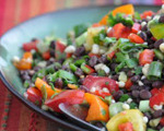 Spicy Summer Black Bean Salad