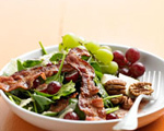 Spinach, Grape and Bacon Salad