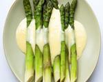 Steamed Asparagus with Tarragon Tofu Sauce