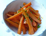 Steamed Carrots and Harissa