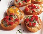 Stilton Bruschetta