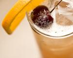 Stonefruit Sling Cocktail
