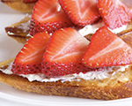 Strawberry and Mascarpone Bruschetta
