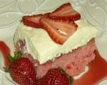 Strawberry Cake Frosting