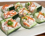 Stuffed Cucumber Slices