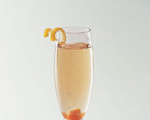 Sugar and Champagne Cocktail