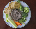 Super-quick bean dip