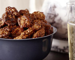 Sweet and Spicy Sesame Walnuts