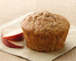 Sweet Apple Bran Muffins