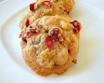 Sweet Cranberry Drop Cookies