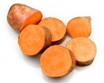 Healthy baby purees: Sweet potato