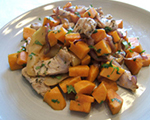 Sweet Potato and Pork Stir-Fry