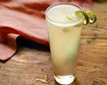 Tequila, Lime and Champagne Sparkler