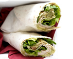 Teriyaki and Turkey Wraps