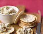 Toasted Walnut and Blue Cheese Spread
