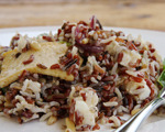 Tofu, Pine Nut, and Wild Rice Salad
