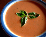 Tomato and Fresh Basil Soup