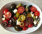 Tomato and Olive Salad with Feta